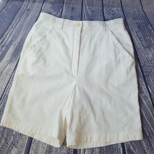 Escada Sport Ultra-high Bermuda Shorts, Size 6